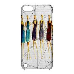 Fashion Sketch  Apple Ipod Touch 5 Hardshell Case With Stand