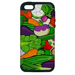 Vegetables  Apple Iphone 5 Hardshell Case (pc+silicone) by Valentinaart