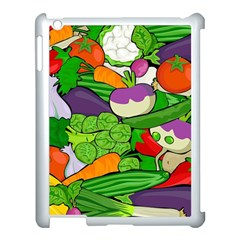Vegetables  Apple Ipad 3/4 Case (white) by Valentinaart