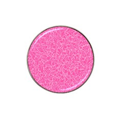 Pink Pattern Hat Clip Ball Marker (10 Pack) by Valentinaart