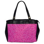 Pink pattern Office Handbags Front