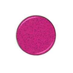 Pink Pattern Hat Clip Ball Marker (4 Pack) by Valentinaart