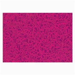 Pink Pattern Large Glasses Cloth (2 Side)