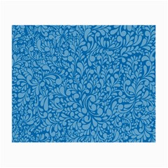 Blue Pattern Small Glasses Cloth (2 Side)