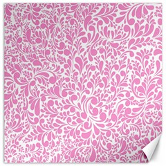 Pink Pattern Canvas 20  X 20   by Valentinaart