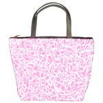 Pink pattern Bucket Bags Front