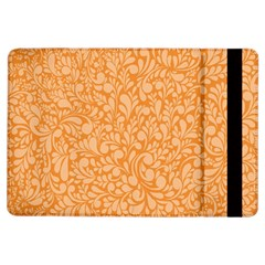 Orange Pattern Ipad Air Flip by Valentinaart