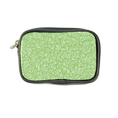 Green Pattern Coin Purse by Valentinaart