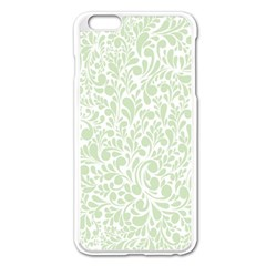 Pattern Apple Iphone 6 Plus/6s Plus Enamel White Case by Valentinaart