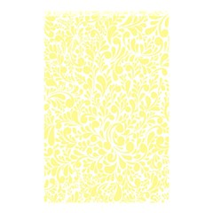 Yellow Pattern Shower Curtain 48  X 72  (small)  by Valentinaart