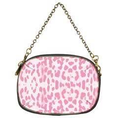 Leopard Pink Pattern Chain Purses (two Sides)  by Valentinaart