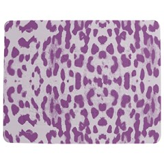 Purple Leopard Pattern Jigsaw Puzzle Photo Stand (rectangular) by Valentinaart