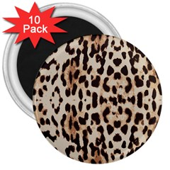 Leopard Pattern 3  Magnets (10 Pack)  by Valentinaart