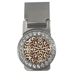 Leopard Pattern Money Clips (cz)