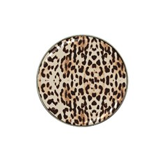 Leopard Pattern Hat Clip Ball Marker (4 Pack) by Valentinaart