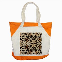 Leopard Pattern Accent Tote Bag by Valentinaart