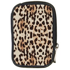 Leopard Pattern Compact Camera Cases by Valentinaart