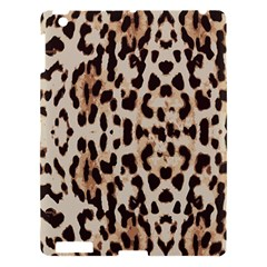 Leopard Pattern Apple Ipad 3/4 Hardshell Case by Valentinaart