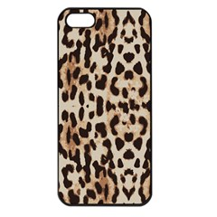 Leopard Pattern Apple Iphone 5 Seamless Case (black)