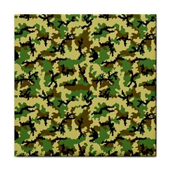 Camo Woodland Face Towel by sifis