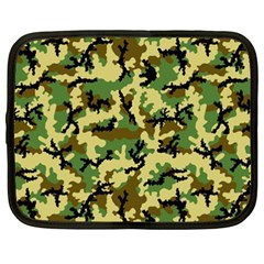 Camo Woodland Netbook Case (xxl)  by sifis