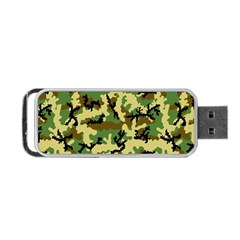 Camo Woodland Portable Usb Flash (two Sides) by sifis