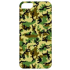 Camo Woodland Apple Iphone 5 Classic Hardshell Case by sifis
