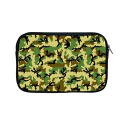 Camo Woodland Apple Macbook Pro 13  Zipper Case by sifis