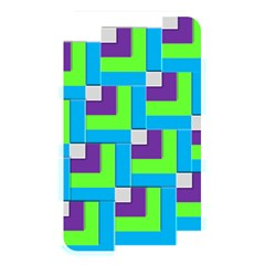 Geometric 3d Mosaic Bold Vibrant Memory Card Reader by Amaryn4rt