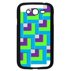 Geometric 3d Mosaic Bold Vibrant Samsung Galaxy Grand Duos I9082 Case (black) by Amaryn4rt