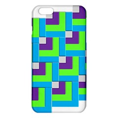 Geometric 3d Mosaic Bold Vibrant Iphone 6 Plus/6s Plus Tpu Case by Amaryn4rt