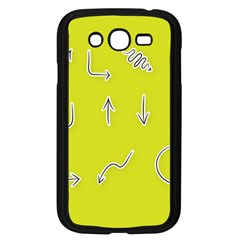 Arrow Line Sign Circle Flat Curve Samsung Galaxy Grand Duos I9082 Case (black) by Amaryn4rt