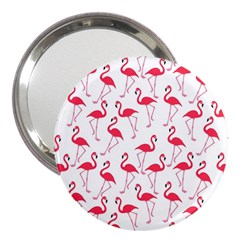 Flamingo Pattern 3  Handbag Mirrors