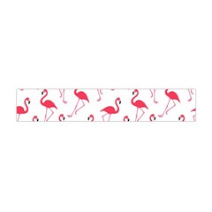 Flamingo Pattern Flano Scarf (mini) by Valentinaart