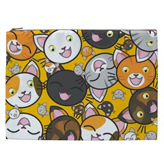 Cats Pattern Cosmetic Bag (xxl)