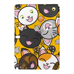 Cats Pattern Samsung Galaxy Tab Pro 12 2 Hardshell Case by Valentinaart