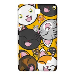 Cats Pattern Samsung Galaxy Tab 4 (7 ) Hardshell Case  by Valentinaart