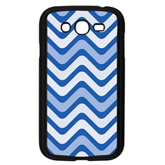 Waves Wavy Lines Pattern Design Samsung Galaxy Grand Duos I9082 Case (black) by Amaryn4rt