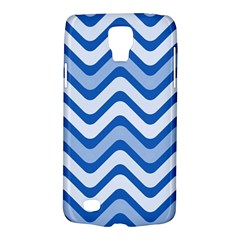 Waves Wavy Lines Pattern Design Galaxy S4 Active