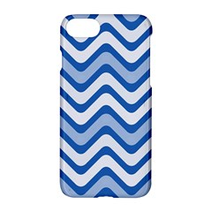 Waves Wavy Lines Pattern Design Apple Iphone 7 Hardshell Case