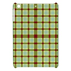 Geometric Tartan Pattern Square Apple Ipad Mini Hardshell Case by Amaryn4rt