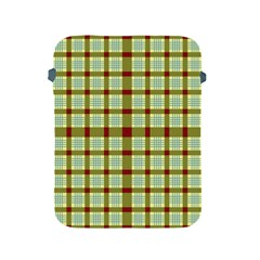 Geometric Tartan Pattern Square Apple Ipad 2/3/4 Protective Soft Cases by Amaryn4rt