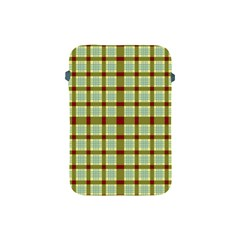 Geometric Tartan Pattern Square Apple Ipad Mini Protective Soft Cases by Amaryn4rt