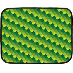 Dragon Scale Scales Pattern Double Sided Fleece Blanket (mini)  by Amaryn4rt