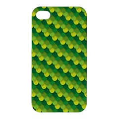 Dragon Scale Scales Pattern Apple Iphone 4/4s Hardshell Case by Amaryn4rt