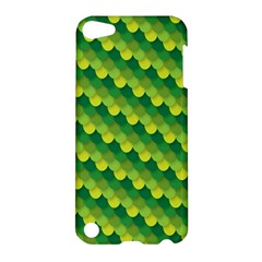 Dragon Scale Scales Pattern Apple Ipod Touch 5 Hardshell Case by Amaryn4rt