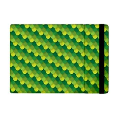 Dragon Scale Scales Pattern Apple Ipad Mini Flip Case by Amaryn4rt