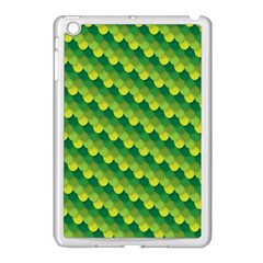Dragon Scale Scales Pattern Apple Ipad Mini Case (white) by Amaryn4rt