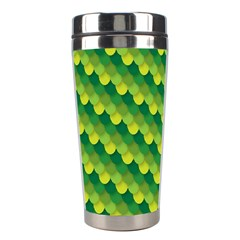 Dragon Scale Scales Pattern Stainless Steel Travel Tumblers by Amaryn4rt