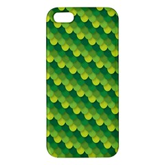Dragon Scale Scales Pattern Iphone 5s/ Se Premium Hardshell Case by Amaryn4rt